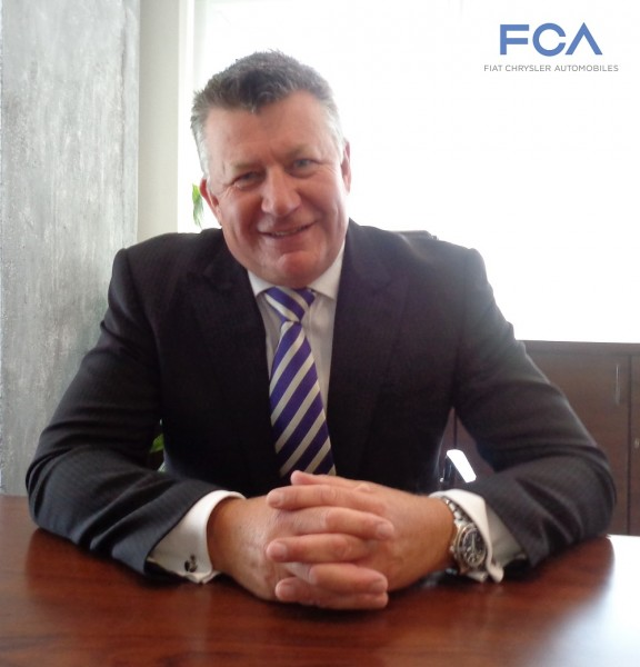 Mr, Kevin Flynn as Fiat Chrysler Automobiles (FCA) President and Managing Director for India Operations