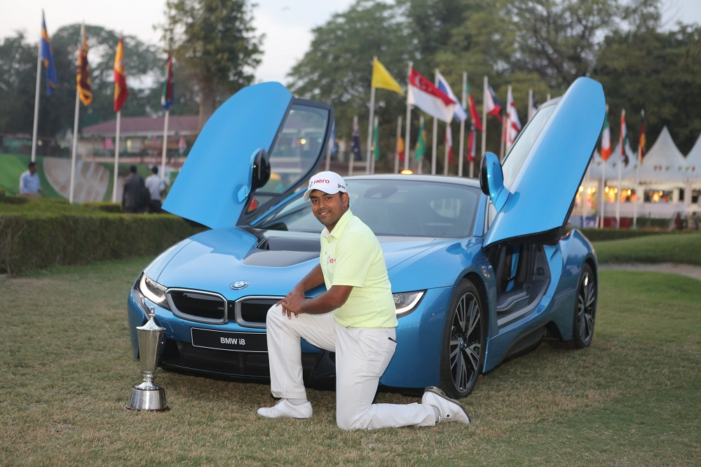 Bmw Stands Out As The Luxury Mobility Partner At The Hero Indian