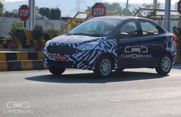 New Ford Figo Sedan 2