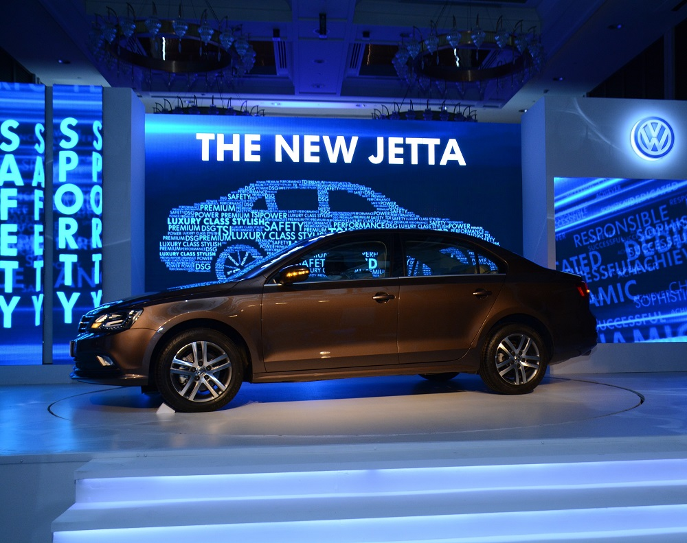 volkswagen launches new jetta for the indian market. Black Bedroom Furniture Sets. Home Design Ideas