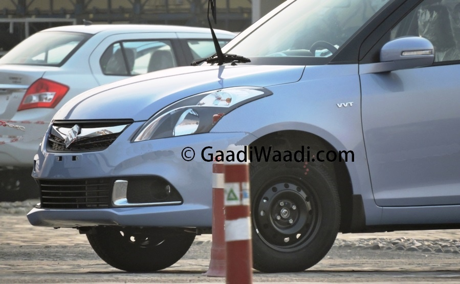 Maruti Suzuki Dzire facelift ready for launch, spy images