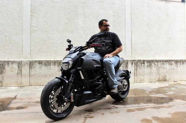 Ducati Diavel Dark Owner