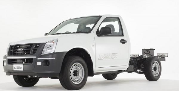 Isuzu _D-MAX Cab-Chassis
