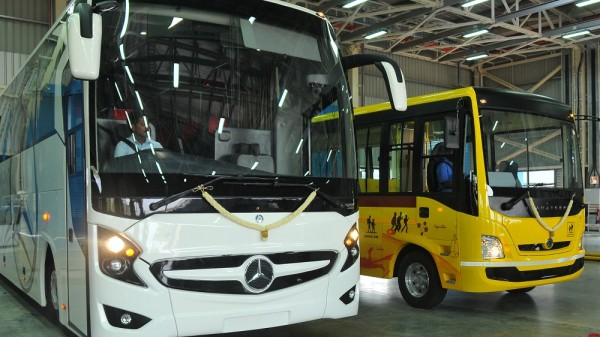 BharatBenz Bus Production