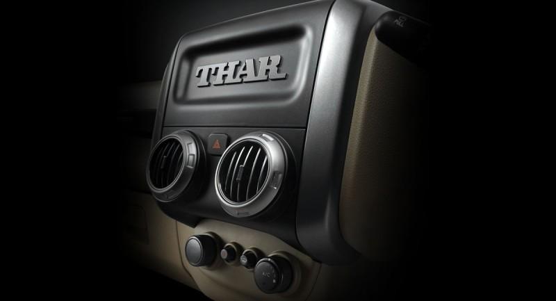 Mahindra Thar CRDe Centre console