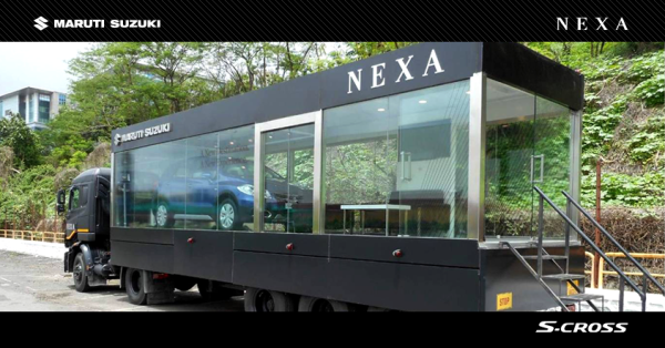 NEXA dealerships on wheels