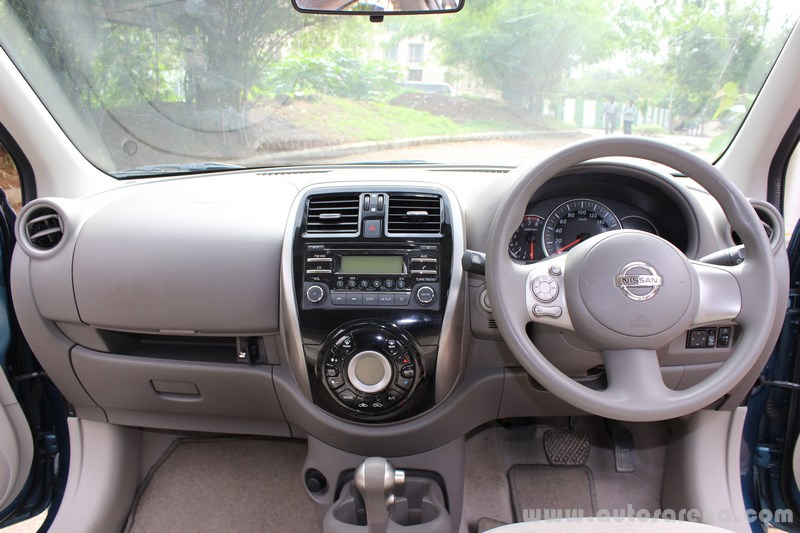 Nissan Micra dashboard (Copy)