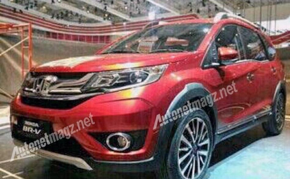 Honda BR-V SUV 3