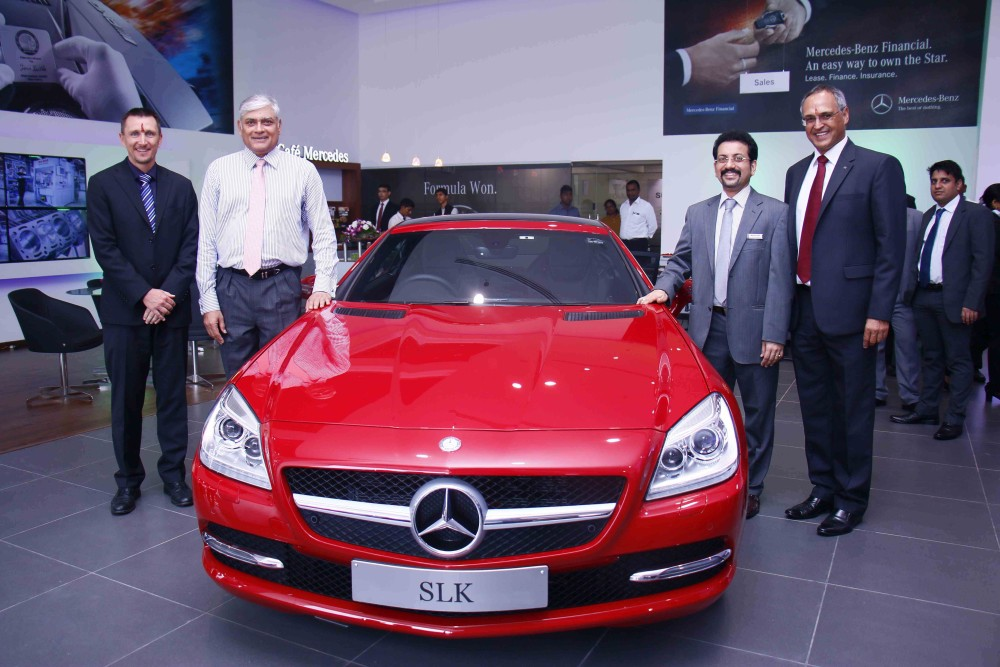 L-R-Mr.-Boris-Fitz-Vice-President-Sales-and-Network-Development-Mercedes-Benz-India-Mr.-Sharath-Vijayraghavan-Executive-Director-Sundaram-Motors-Mr.-