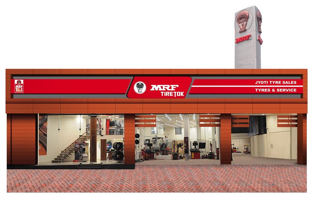Mrf Opens Mrf Tiretok Wheel Alignment And Balancing Centre