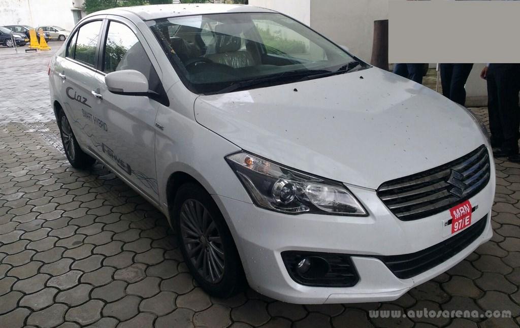 Maruti Suzuki Ciaz SHVS Demo car