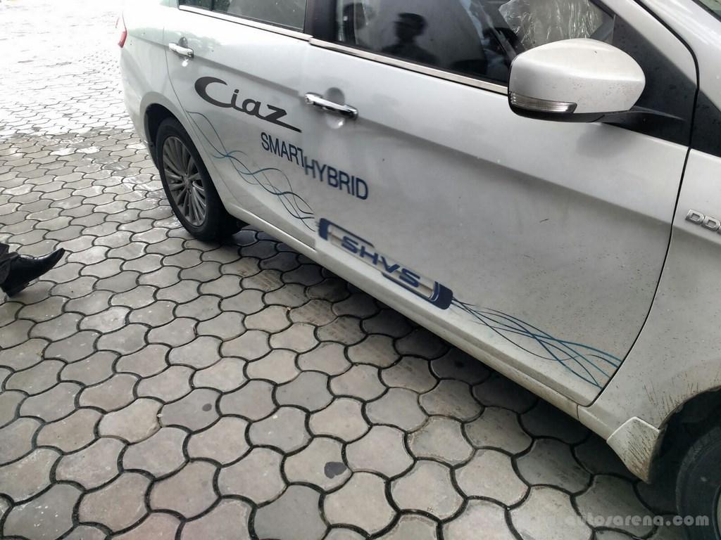 Maruti Suzuki Ciaz SHVS Demo car 2
