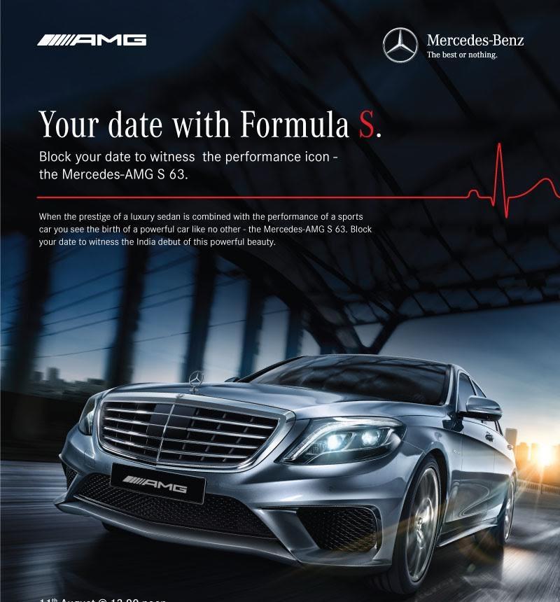 Mercedes-Benz S 63 AMG sedan