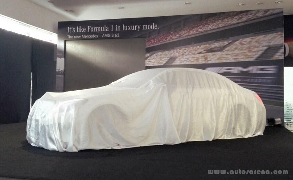 Mercedes-Benz S63 AMG Sedan launch (1)