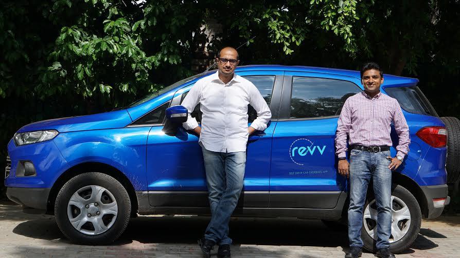 Revv- Mr. Anupam Agarwal Co-Founder CEO & Mr. Karan Jain Co-Founder COO