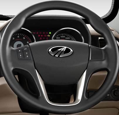 TUV300 steering wheel