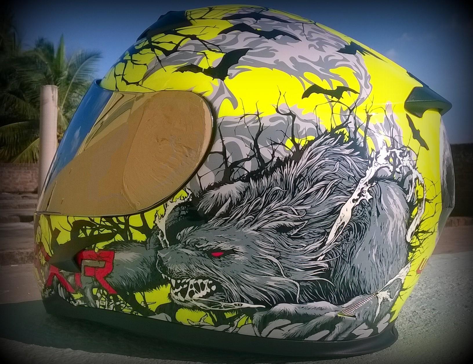 AXR Wolf Helmet (2)