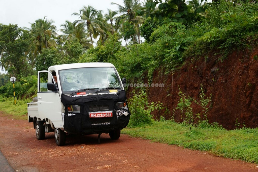 Mahindra Maxximo Facelift Caught Testing 1 Ton Variant In Pipeline