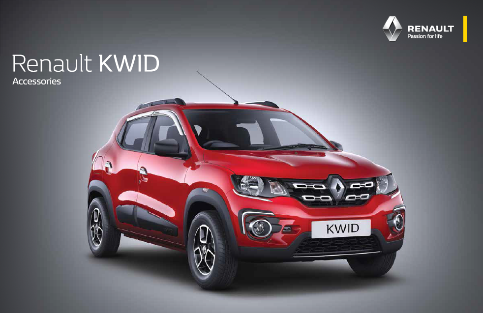 Renault Kwid To Offer 60 Unique Accessories And 6 Accessory Packs Kwid Accessory Video Inside