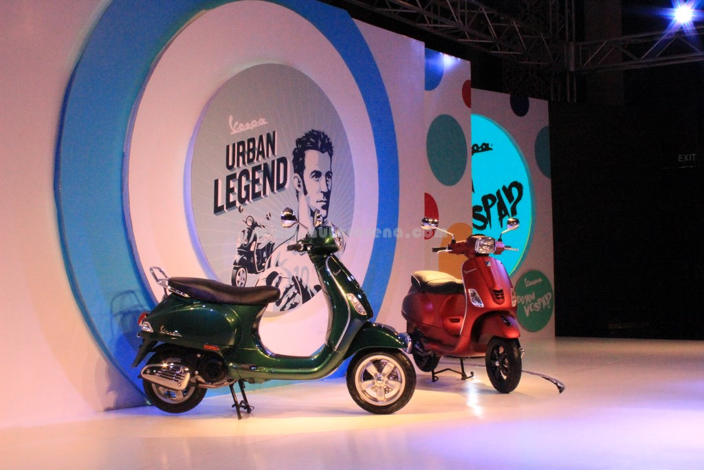 Vespa VLX SLX launch 2
