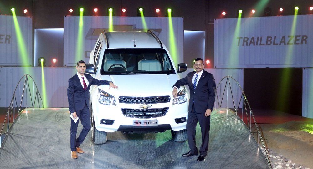 Chevrolet Trailblazer Suv Launched In India At Rs 264 Lakhs Only