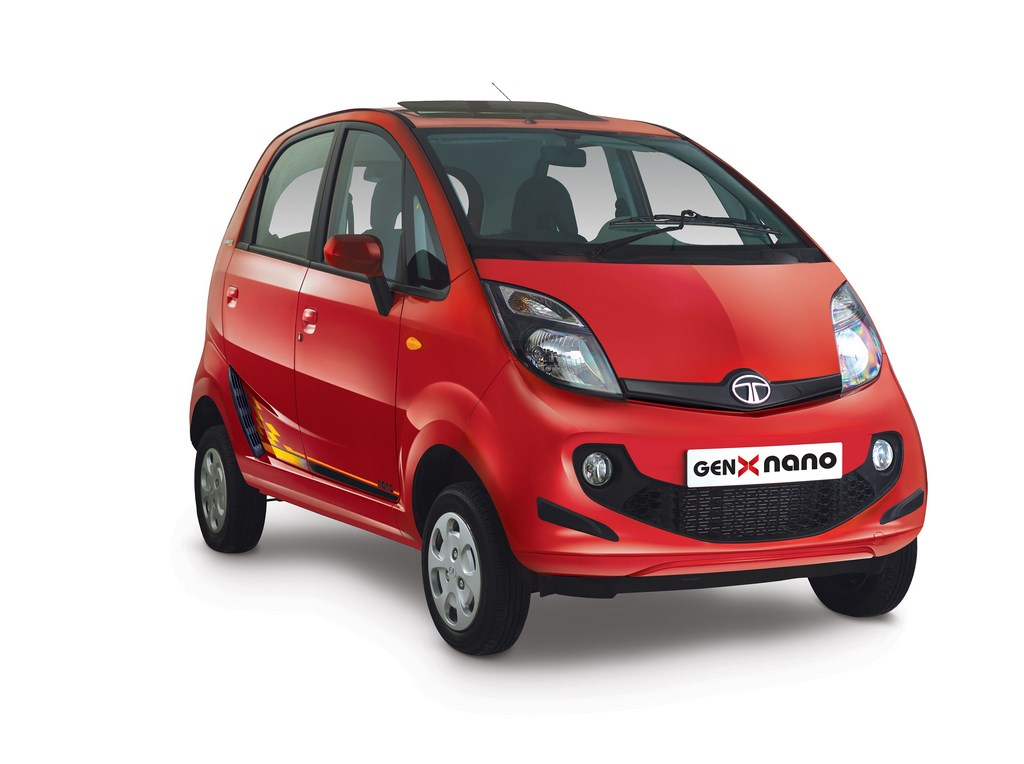 Tata Motors Launch Celebration Edition Bolt Nano Indigo