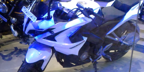 Bajaj Pulsar RS 200 White