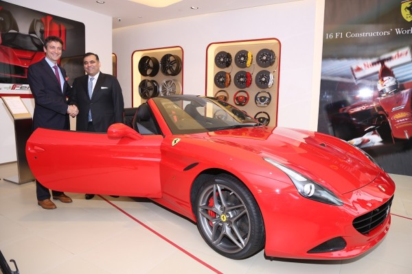 Ferrari showroom New Delhi