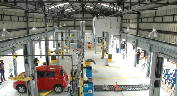 Mahindra First Choice Service Stations