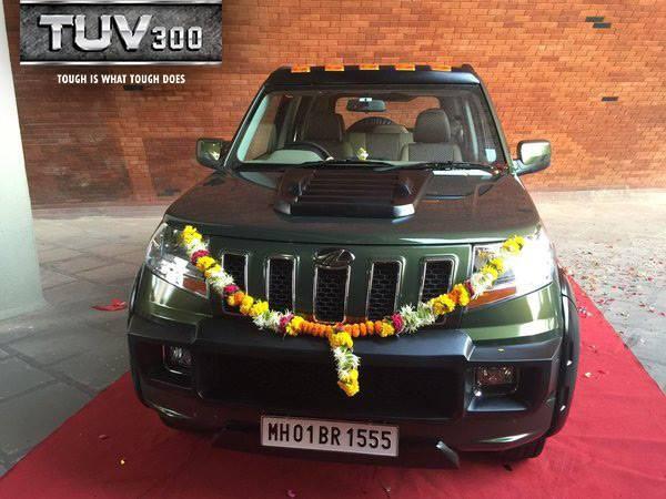 Mr. Anand Mahindra's TUV 300 (3)