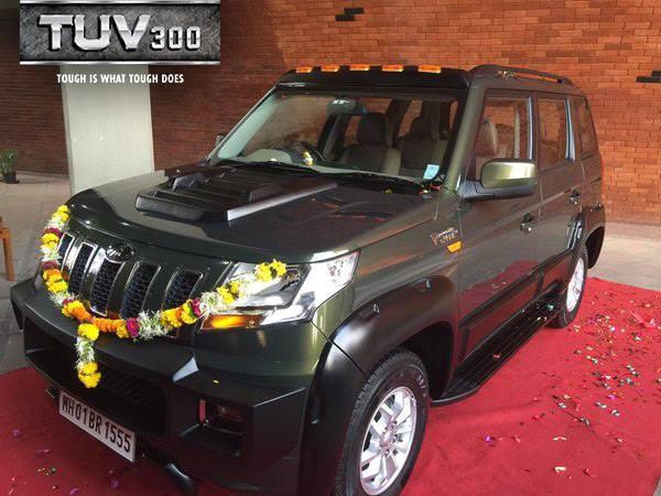 Mr. Anand Mahindra's TUV 300 (4)