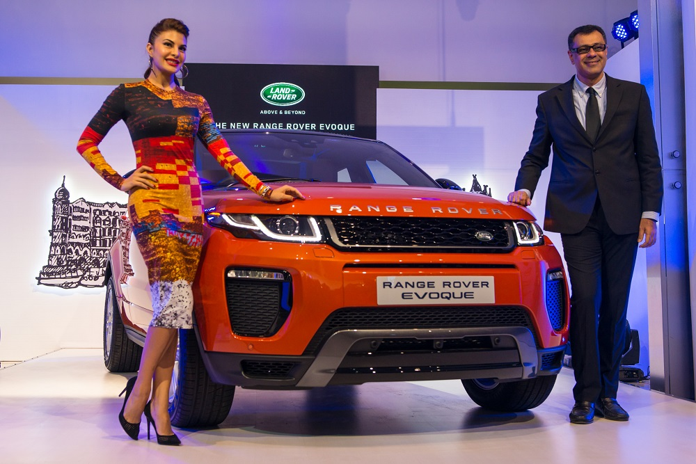 new car launches of 2013Mr Rohit Suri President Jaguar Land Rover India Ltd and