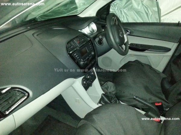 Tata Motors Zica Interior Dashboard