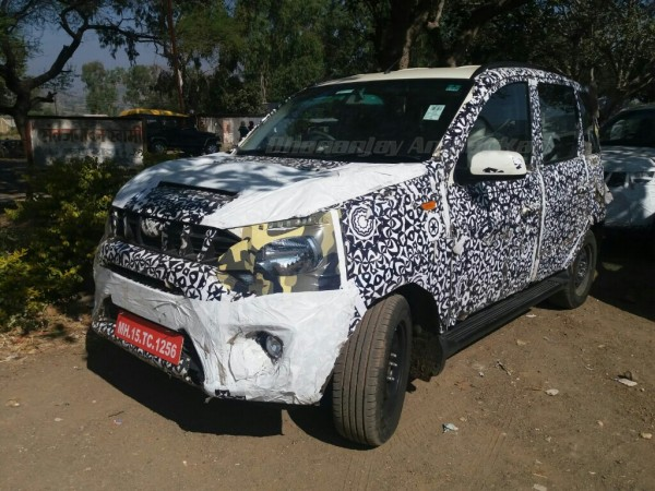 Clear image of the new Mahindra Quanto (Canto) facelift