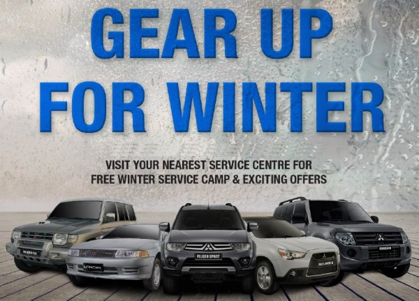 Mitsubishi Winter Camp
