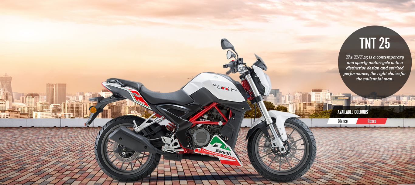 Benelli Launches TNT 25, Priced At Rs.1.68 Lakhs
