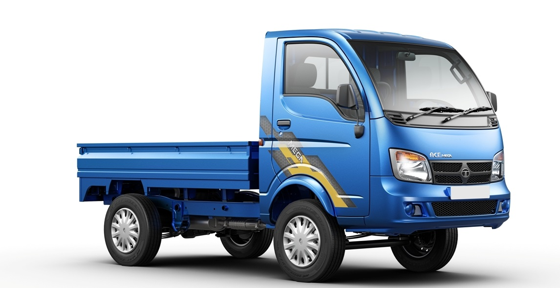 Tata Ace Mega 1 ton Pick-up Truck launched in India