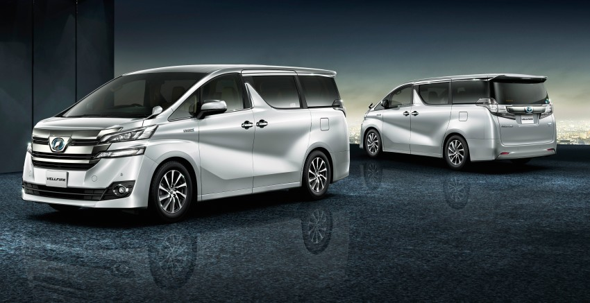 Toyota To Showcase Vellfire Mpv At 2016 Auto Expo