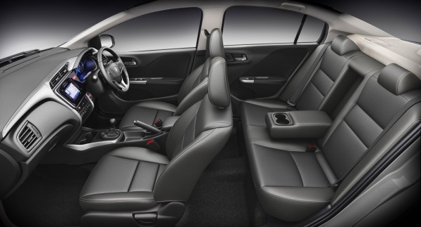 Honda City Black interiors