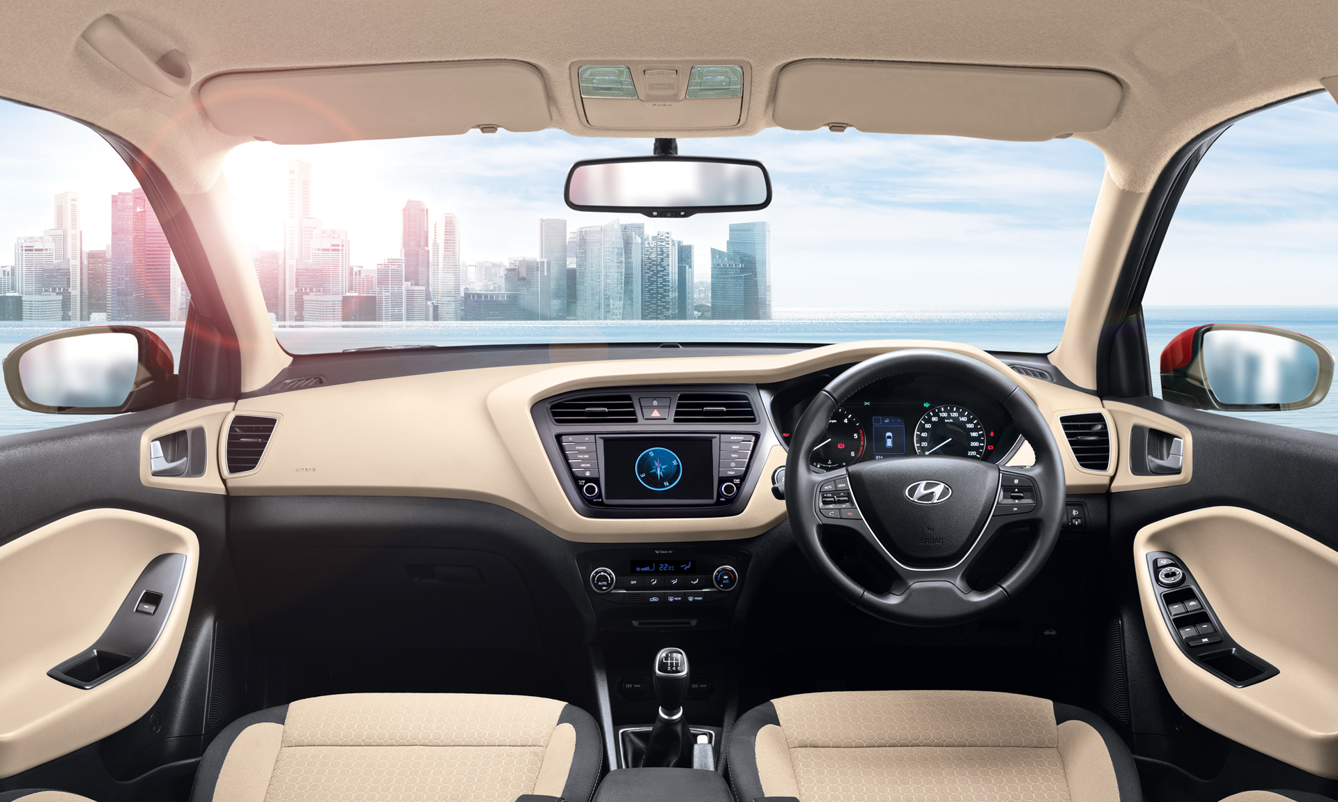 elite i20 interiors front seats