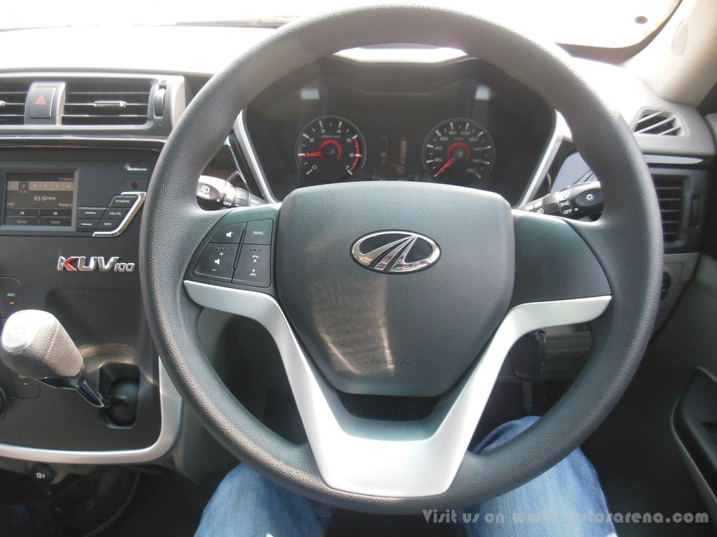 mahindra kuv 100 steering wheel. Black Bedroom Furniture Sets. Home Design Ideas