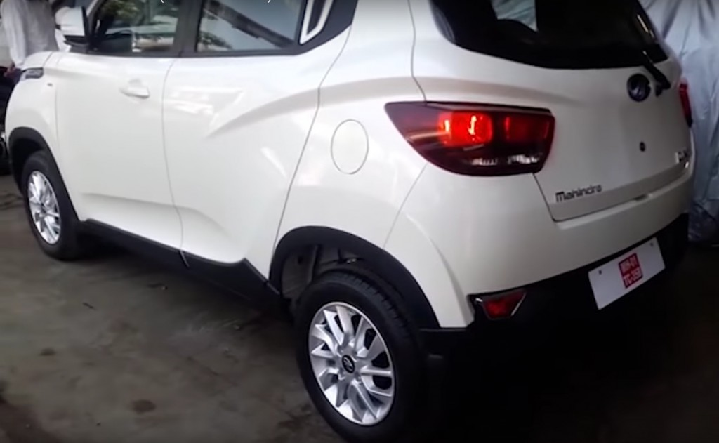Mahindra Kuv 100 Fully Revealed In A Video Launch On 15th