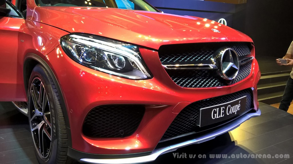 Mercedes benz gle 450 amg coup launched in india starts for Mercedes benz gle 450