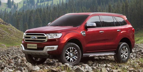 New Ford Endeavour 6