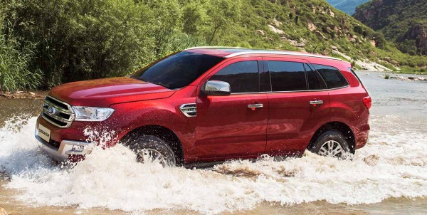 New Ford Endeavour 8