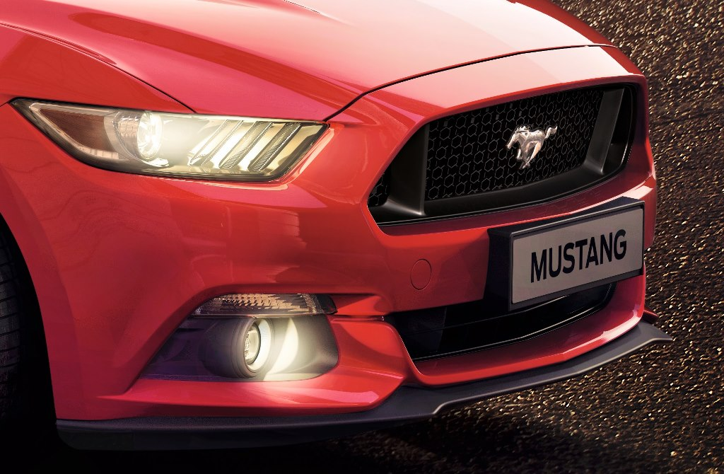 New Ford Mustang front