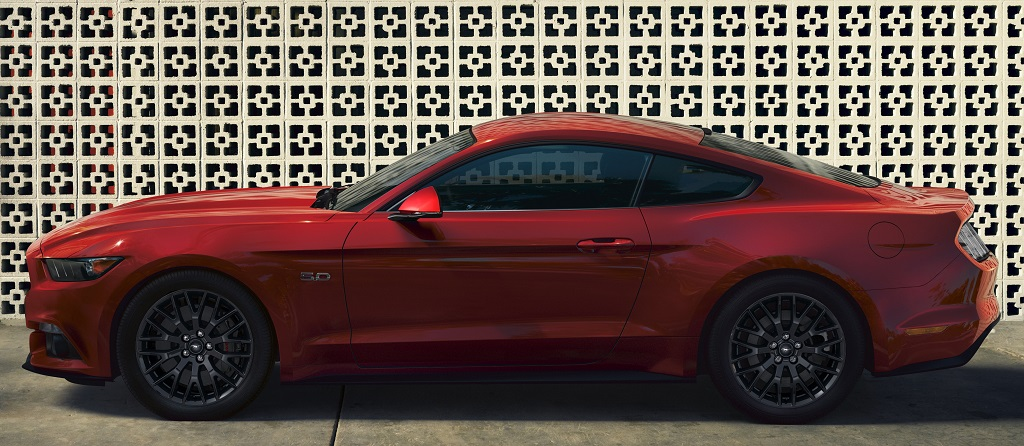 New Ford Mustang side