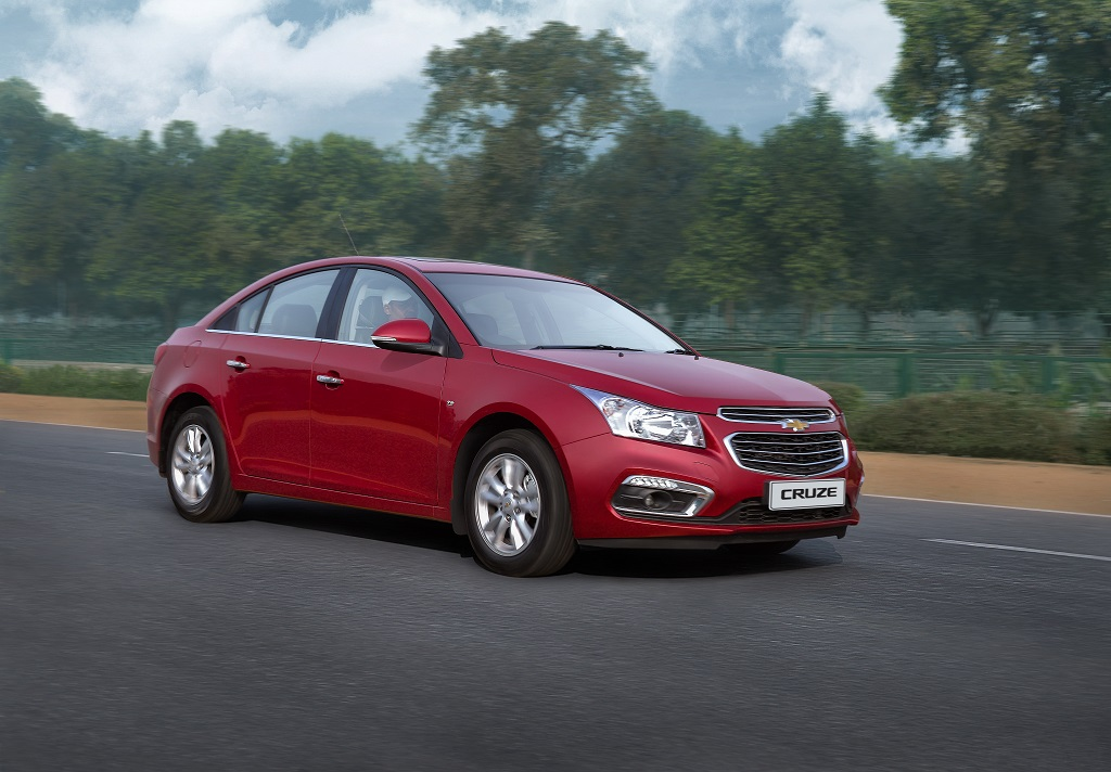 2016 chevrolet cruze facelift launched in india. Black Bedroom Furniture Sets. Home Design Ideas