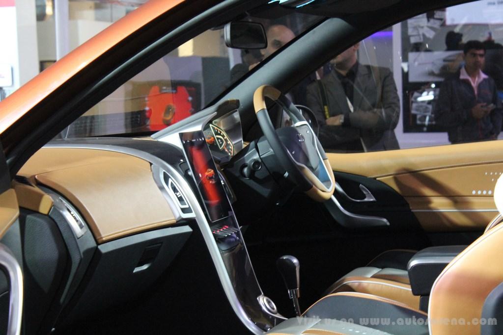 Mahindra XUV Aero Concept Interiors (10)