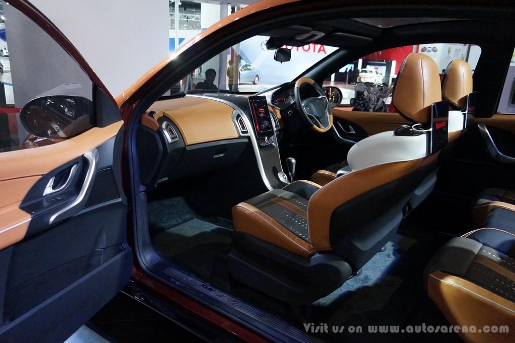 Mahindra XUV Aero Concept Interiors (16)